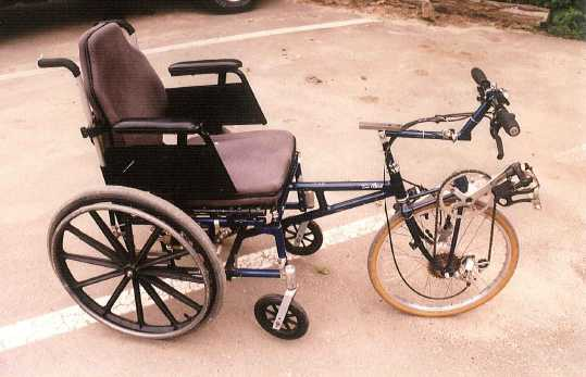 Wheelchair Bicycle